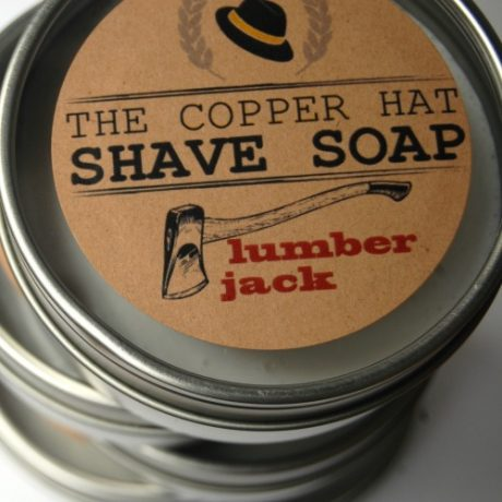 The Copper Hat All-Natural Shave Soap |Lumberjack|
