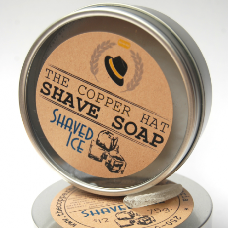 The Copper Hat All-Natural Shave Soap |Shaved Ice|