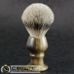 Faux Horn Acrylic Shaving Brush