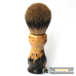 Buckeye Burl Silvertip Shaving Bruch