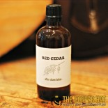 All natural red cedar aftershave