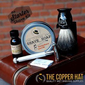 The Starter Wet Shave Set with Black Badger