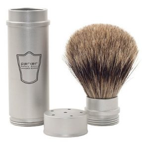 Pure Badger Hair Travel Shaving Brush