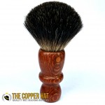 Hand crafted Lacewood Black Badger Shaving Brush