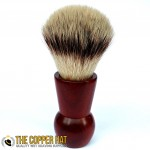 Hand crafted Paduak Synthetic shaving brush