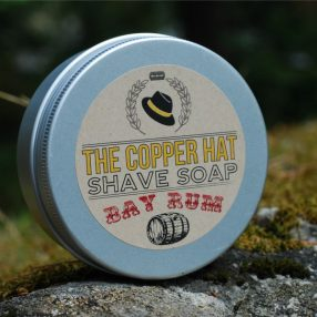 The Copper Hat All-natural Shave Soap Bay Rum