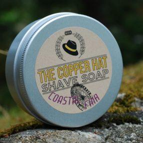 The Copper Hat All-natural Shave Soap Coastal Fair