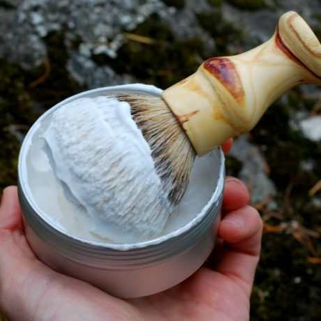 The Copper Hat All-natural Shave Soap Lather-2
