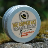 The Copper Hat All-natural Shave Soap Lumberjack