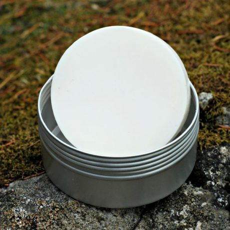 The Copper Hat All-natural Shave Soap Puck - 2