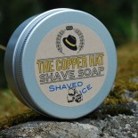 The Copper Hat All-natural Shave Soap Shaved Ice