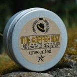 The Copper Hat All-natural Shave Soap Unscented