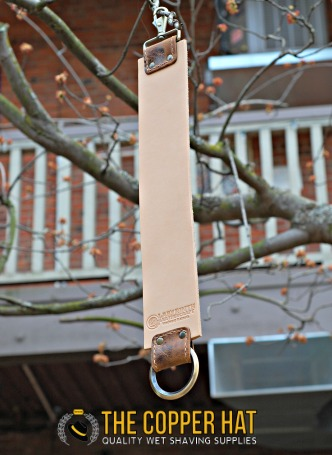 Handcrafted 3 inch premium Leather Straight Razor Strop 4