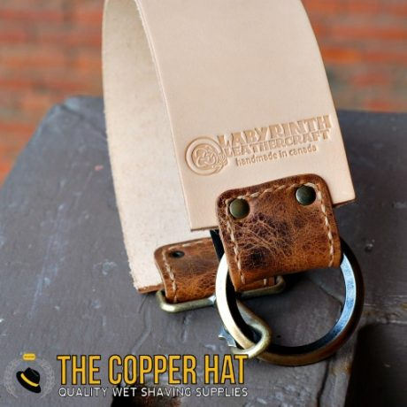 Handcrafted 3 inch premium Leather Straight Razor Strop