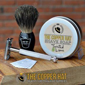 Black Badger Shaving Brush Set