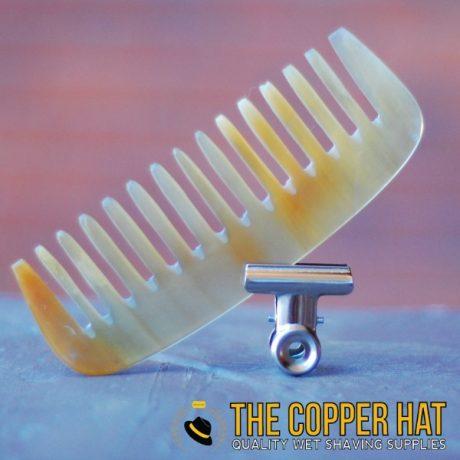 Hand sawn Ragnar Horn Comb Cream