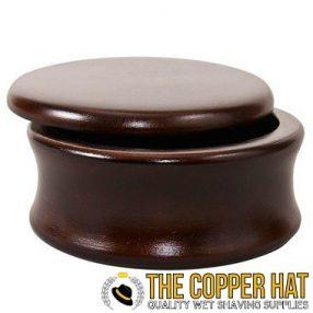 Mango Wood Lathering Bowl with Lid