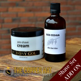 Shave Set Add On Skin Care Pre Shave Cream and Red Cedar Aftershave