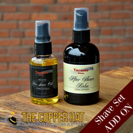 Shave Set Add On Skin Care Pre Shave Oil and Aftershave Balm
