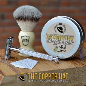 Synthetic Shaving Brush Set