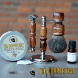 handcrafted-apple-black-badger-shaving-brush-and-razor-stand-set