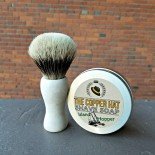 Handcrafted Finest Badger Reclaimed Styrofoam Shaving Brush 3