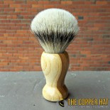 Handcrafted Fruit Tree Silvertip Badger Shaving Brush