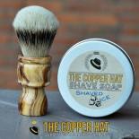 Handcrafted Lilac Silvertip Badger Shaving Brush & Soap