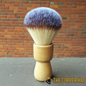 Handcrafted London Plane Synthetic Shaving Brush