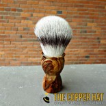 Handcrafted Red Cedar Synthetic Shaving Brush