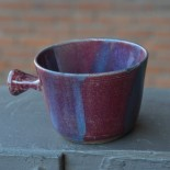 Raspberry & Royal Handcrafted Lathering Bowl 1