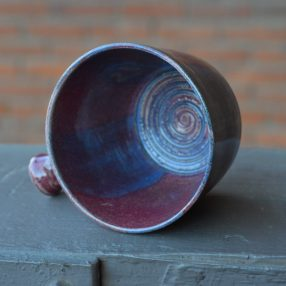 Raspberry & Royal Handcrafted Lathering Bowl 2