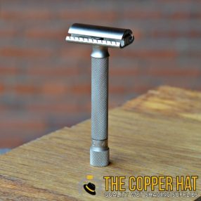 Parker Variant Adjustable Safety Razor Satin Chrome 1