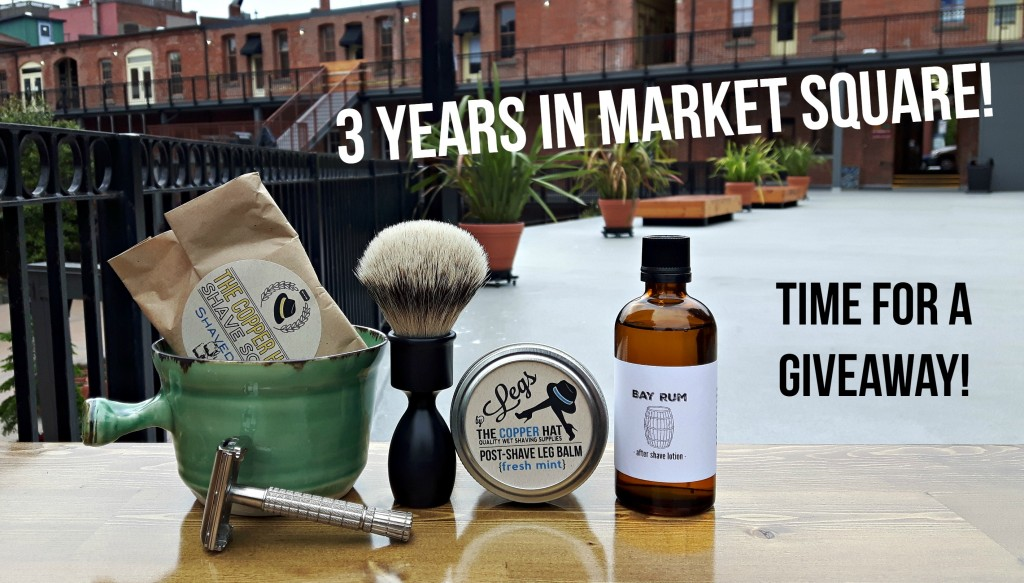 3 Years in Market Square Giveaway