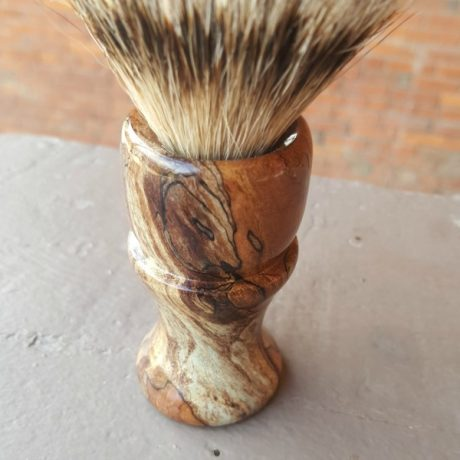 Maple Burl Grade A Silvertip Badger 2