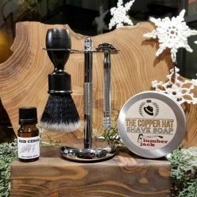 Deluxe Journey Shave Set Synthetic Nylon
