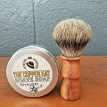 Handcrafted Pure Badger Cherry Shaving Brush