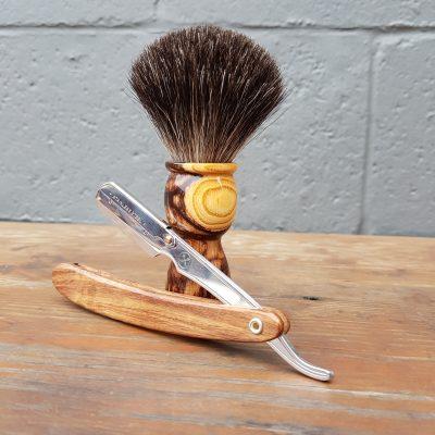 Caragana Black Badger Shaving Brush