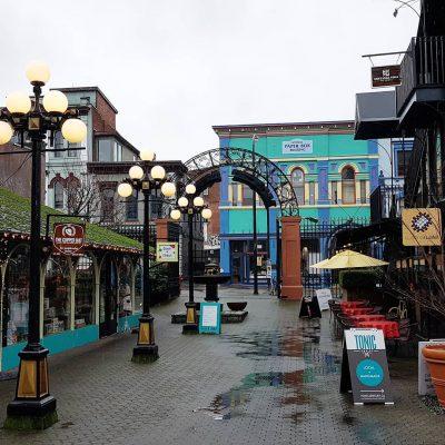 Store front in Market Square, Victoria