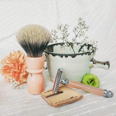 Maple Acrylic Hybrid Shaving Brush