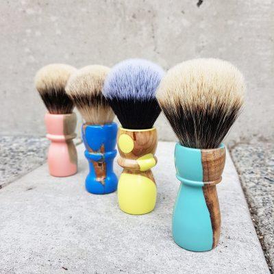 Acrylic Hybrid Handmade Shaving Brushes